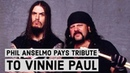 Phil Anselmo + SCOUR Pay Tribute To Vinnie Paul Playing Slaughtered By Pantera