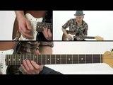 Chicago Blues - #14 Up Hi Lick - Lead Guitar Lesson - Jeff McErlain