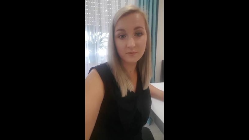 Видео отзыв ученицы Анны Маллер
