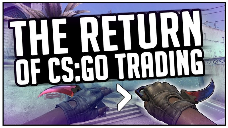 CS:GO Gambling and Trading IS BACK! (На английском)