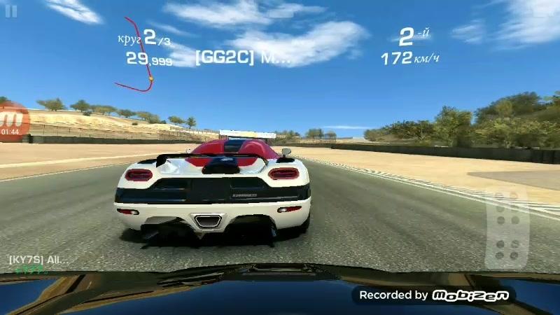RR3 online Agera  Mazda racewei Laguna Seca