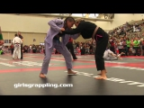 GrOoVy! Purple Belt Girls Grappling Gi   NAGA Women Wrestling BJJ MMA Female Fight