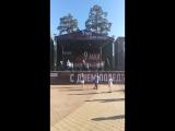 Родина -мать!. Выступление ВИА Вера,Надежда,Любовь у Ледового Дворца Арена Балашиха.