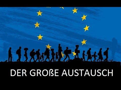 Was passiert in Europa - Der Kalergi- oder Hooten-Plan ?