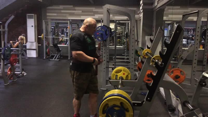 Румынка 215,стараемся прибавлять от тренировки к тренировке
