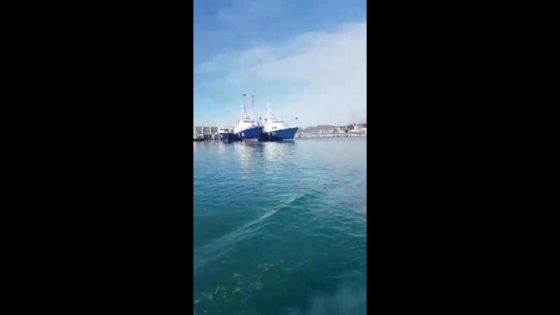морвокзал. Черное море