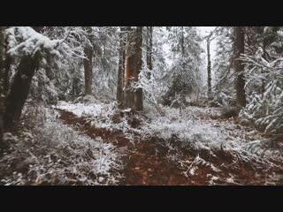Колчимский камень. Первый снег