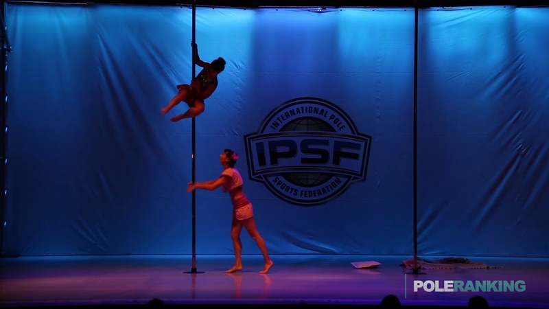 Doubles Svetlana S. Elena E. of Russia - IPSF World Pole Sports Championships 2018