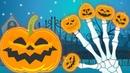 Familia Halloween   La Familia Dedo con Calabazas   Canciones Infantiles para Niños