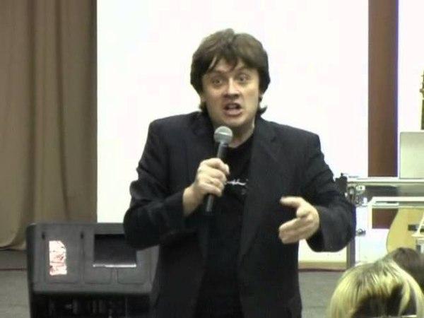Возвышающий обман проповедует Виктор Судаков церковь Новая Жизнь г Екатеринбург