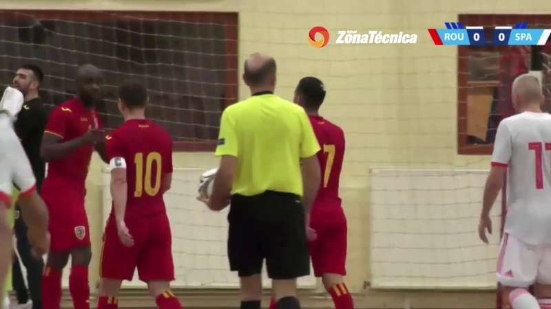 InternationalFriendly | Roménia 1-0 Espanha