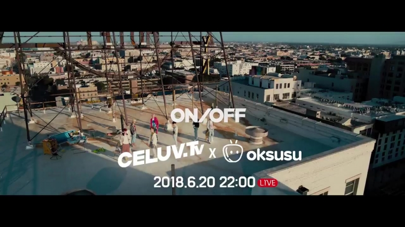 180619 • preview 'Im Celuv' with 'Sk Telecom' • ONF