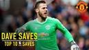 David De Geas Top 10 Premier League Saves от vk/securitta