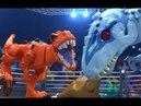 Динозавры трансформеры мультик для детей Веселые динозавров роботы на канале Игрушки Андрюшки Dino