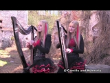 A_IRON MAIDEN - Fear of the Dark - Harp Twins -Camille and Kennerly- HARP METAL