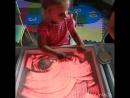 ⠀ Рисование песком на волшебных 🌈световых столах @ myplayroom_shop-одно из любимых занятий у детишек в нашем Летнем Лагере🐒 ⠀ Т