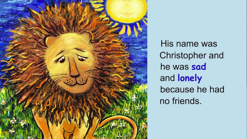 The Lonely Lion, a read-aloud story by Pearl Forster