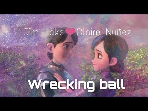 [Clarim] Jim Lake Jr Claire Nuñez || Wrecking Ball || TrollHunters[S1-3]