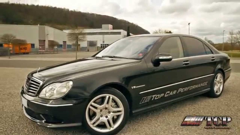 MB S 55 AMG TCP Prüfstand 830 Nm | 569 PS - TOP CAR PERFORMANCE