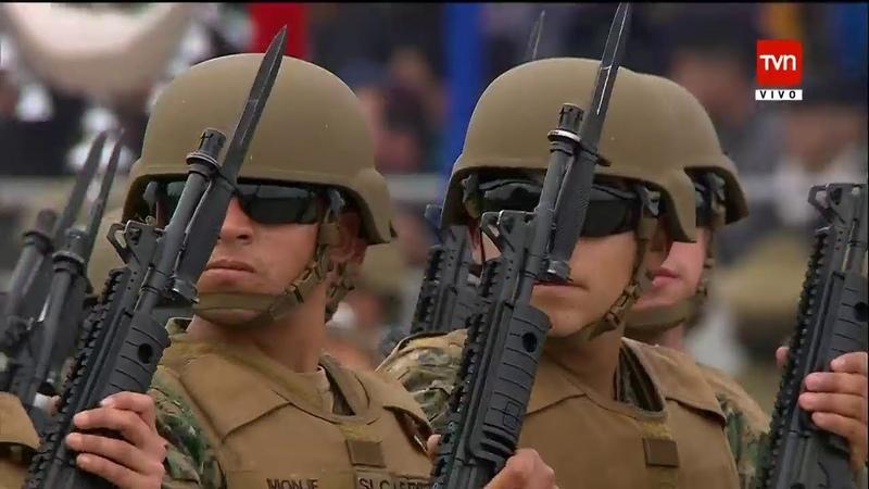 🇨🇱 Parada Militar 2018 Chile | 📺 1080p