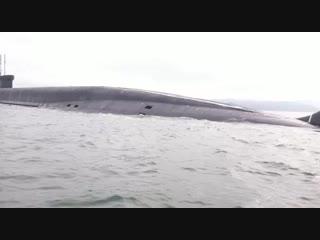 Подводная лодка К-550