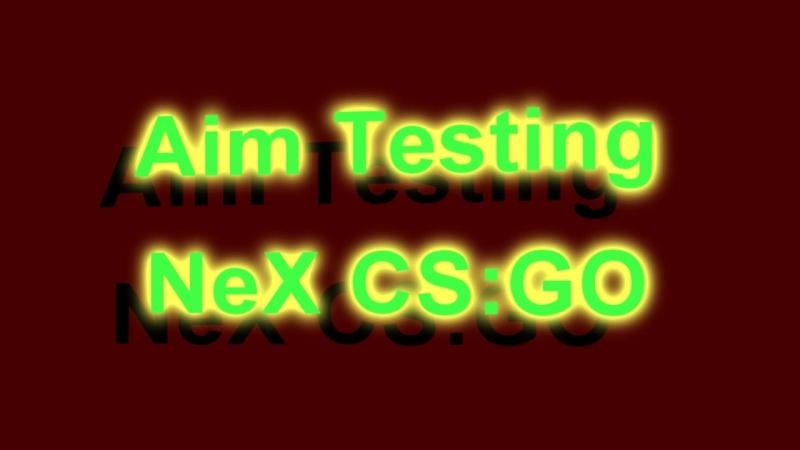 Aim Testing Altynbek 'NeX' Moldagali