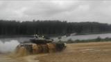 Танковый биатлон. Арабский дрифт с переворотом на танке Т-72Б3  EE88
