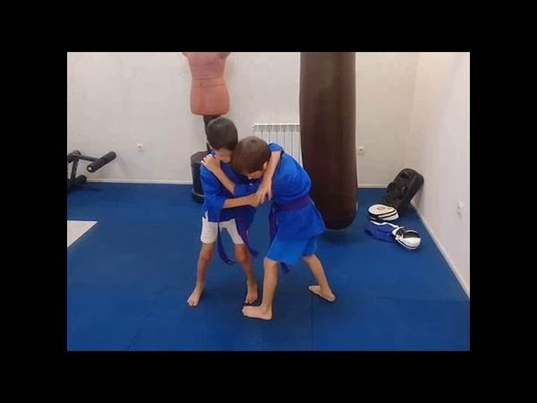 Кудо-дети. 6-7 лет. Индивидуальные тренировки дома. г.Феодосия