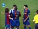 2 тайм Чемпионат Испании Барселона-Эспаньол 2006-2007гг