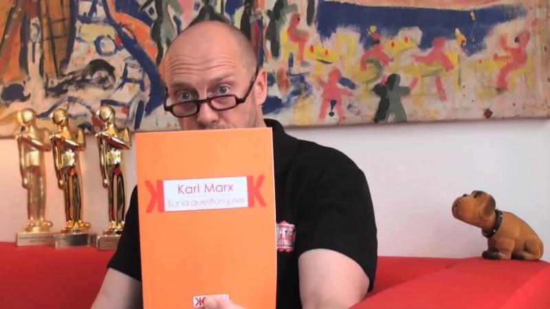 Alain Soral présente Sur la question juive, de Karl Marx