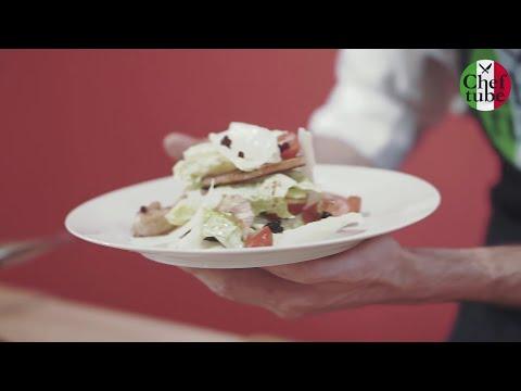 Мастер класс салат Цезарь с курицей соус Цезарь итальянский салат быстрый рецепт