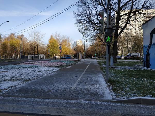 Пешеходный светофор отремонтировали на Череповецкой улице