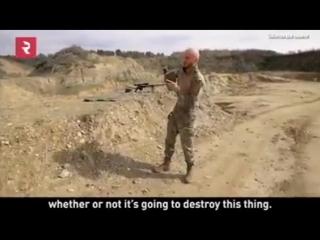 тестирование снайперской винтовки Лобаева
