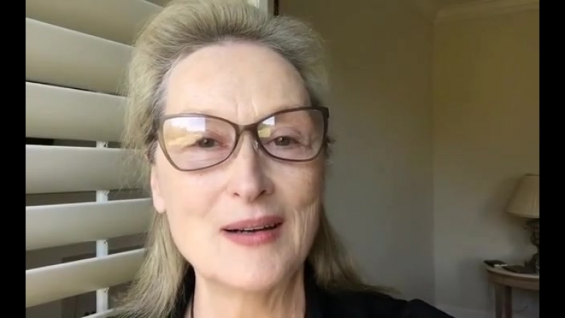 Meryl Streep's message to Ai-jen Poo, Monica Ramirez and the National Domestic Workers and Farmworkers Alliances.