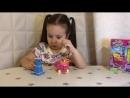 Shopkins KINSTRUCTIONS SHOPPING CART и сюрпризы рюкзачки Шопкинс тележка витрина Распаковка обзор игрушек