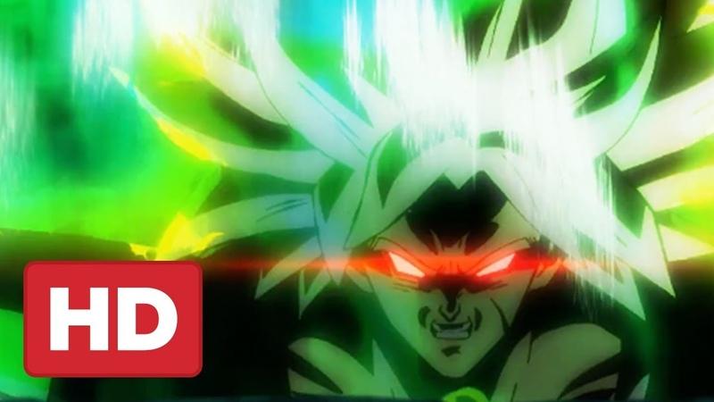 Dragon Ball Super Broly Movie Trailer (English Dub Reveal) Exclusive - Comic Con 2018