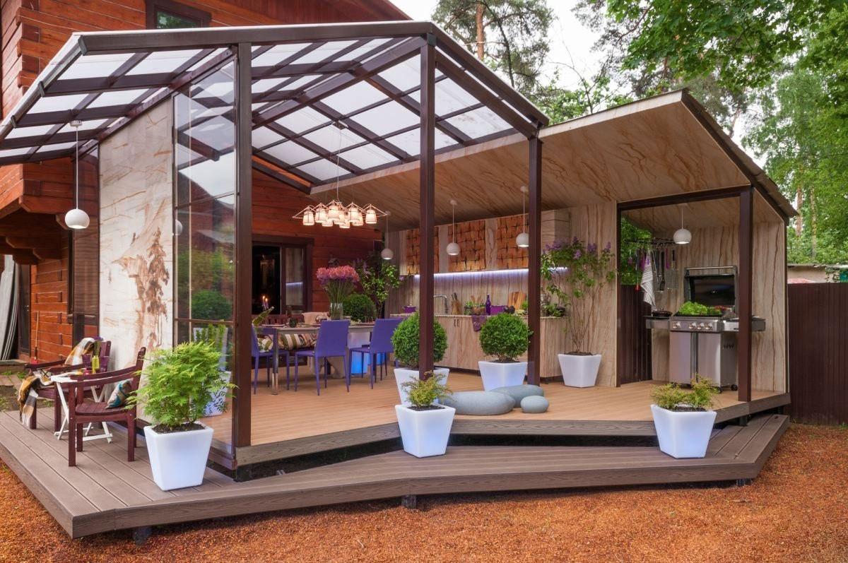 Дизайн террасы в частном доме