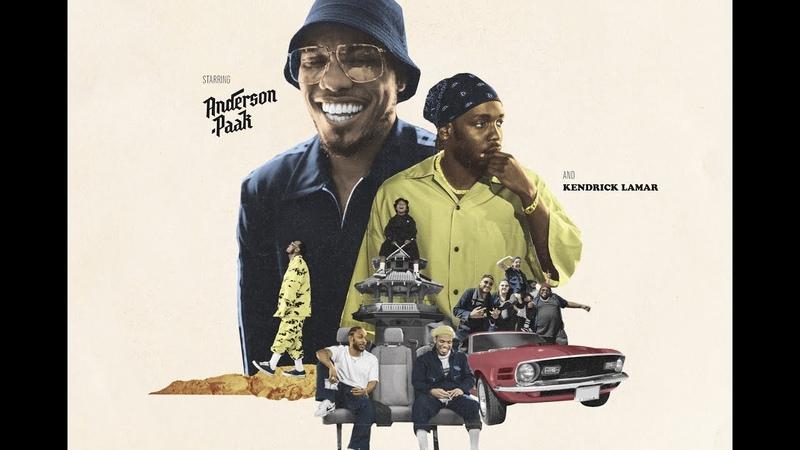 Anderson Paak TINTS ft Kendrick Lamar Official Lyric Video