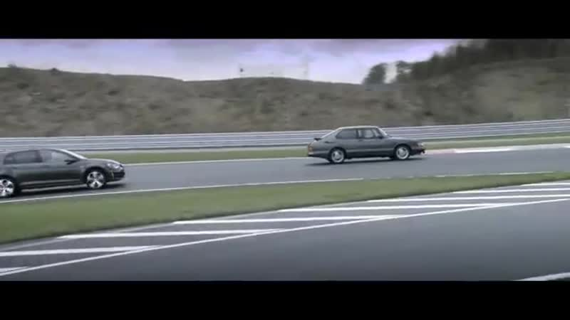 VW GOLF GTI vs- SAAB 900 turbo 16 S - Bilster Berg Drive Resort