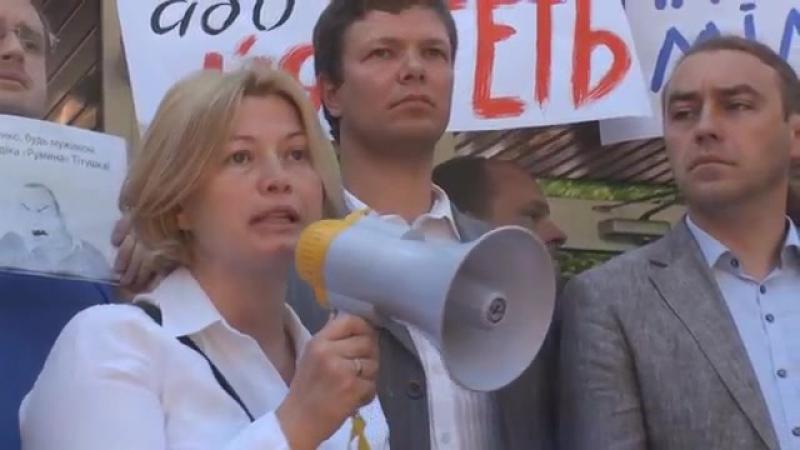 Киев 18 мая, 2013 МВД, избиение журналистов, БТР и министр (Сергей Тышковец, Сергей Рулев)