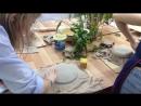 Мастер класс по лепке с отпечатками растений