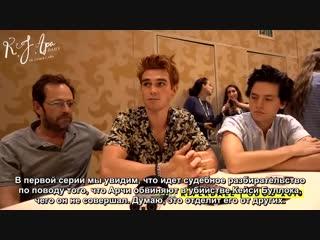 2018 › интервью с Эшли Баш в рамках конвенции «Comic Con» › 21 июля (русские субтитры)