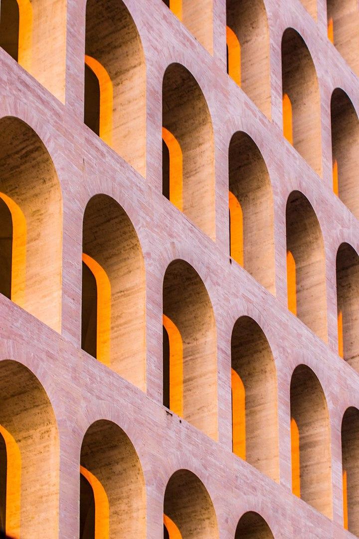 Palazzo della Civiltà Italiana, Colosseo Quadrato by Giovanni Guerrini