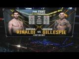 FIGHT NIGHT CHARLOTTE Jordan Rinaldi vs. Gregor Gillespie