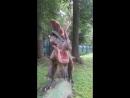 Зеленогорский ПКиО в динопарк с дочкой