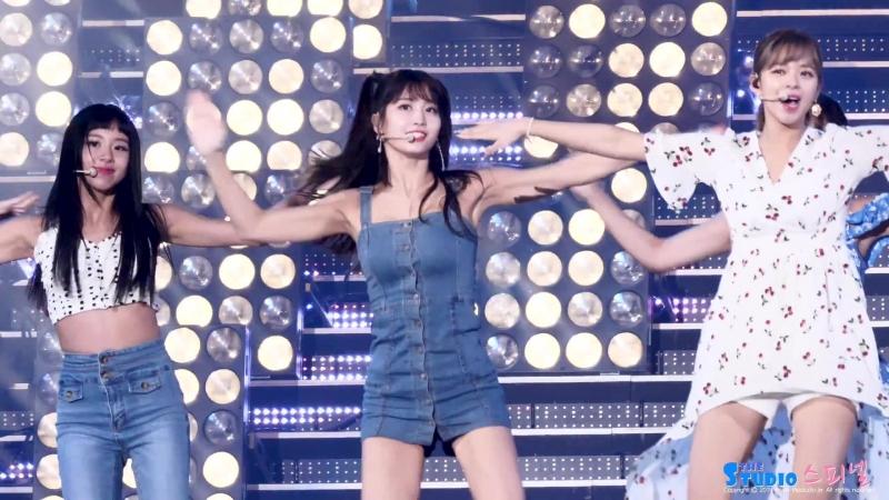[Фанкам] 180717 Twice - Dance The Night Away KBS2 @ Open Concert (фокус на Момо).