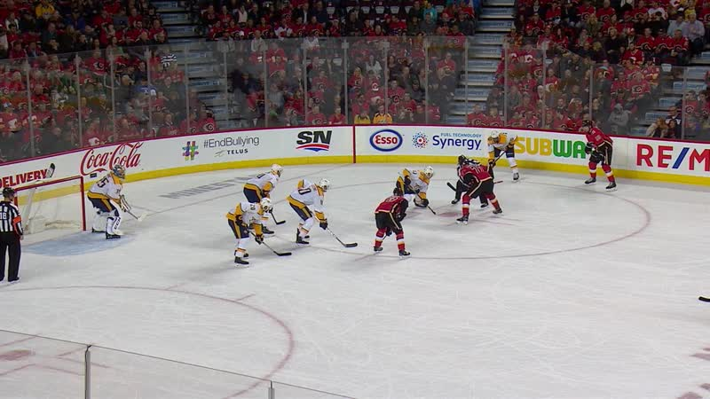 NHL 18/19, RS, Nashville Predators vs Calgary Flames [19.10.2018 | FS Predators]
