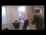 Как за 25 минут научиться делать стрижку Каскад с полным сохранением длины