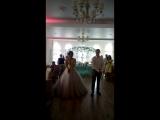 Танец молодых.Аня и Артём Веселовы.