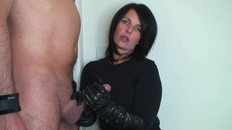 Sexy Gloves Handjob